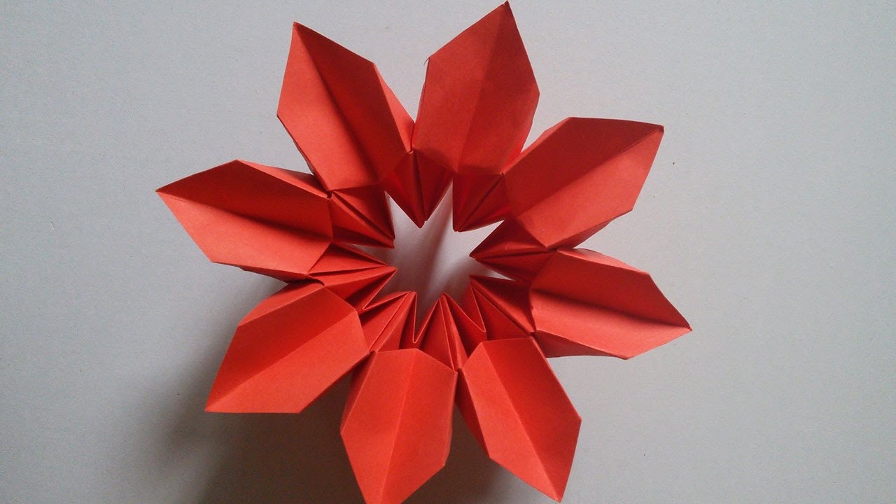 Hand works origami magical flower handiworks 9 youtube hand works origami magical flower handiworks 9 mightylinksfo