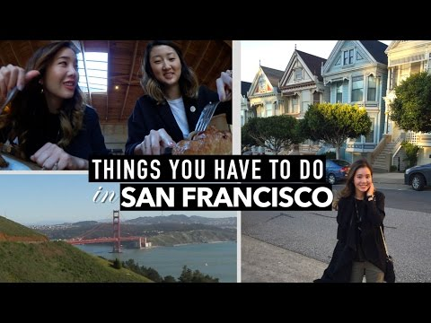 Things To Do in San Francisco: Golden Gate, Painted Ladies, & Lots of Coffee!