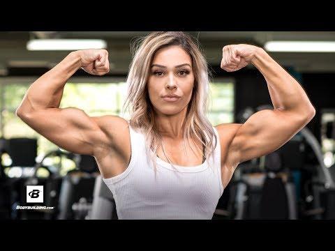 No-Mercy Shoulder-Pump Workout | Cassandra Martin