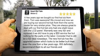 Desert Hot Tubs Review Arcadia Cove, AZ 85008 (480) 855-1981