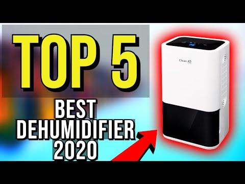 ✅ TOP 5: Best Dehumidifier 2020
