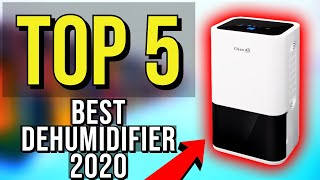 ✅ TOP 5: Best Dehumidifier 2020