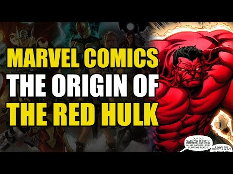 The Origin Of The Red Hulk (Fall Of The Hulks Alpha)