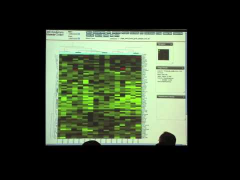 Bioinformatics and Biospecimen Workshop 2013  Online Tools to Analyze TCGA Data  Dr Rehan Akbani