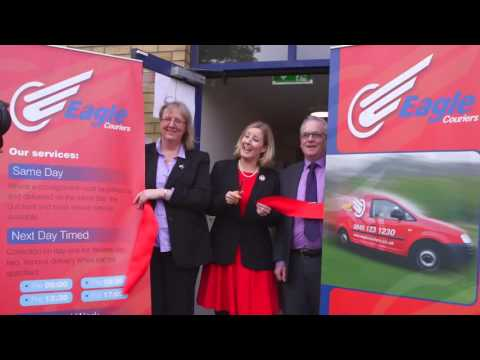 MP Praises Bathgate Courier And Cuts Ribbon On New HQ