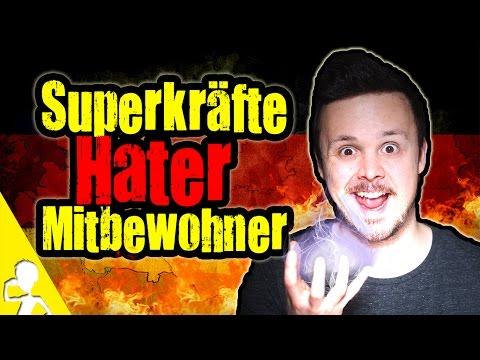 Superkräfte, Hater Und Mitbewohner | German Rant #5