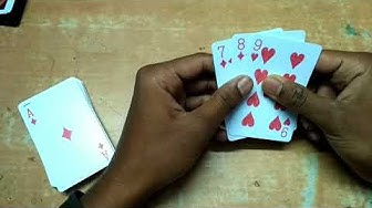 How to play flash by card || play teen patti game by tash hindi
