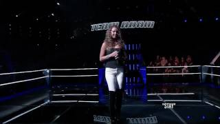 Alessandra Castronova Vs Joe Kirk - Stay | The Battle | The Voice 2014