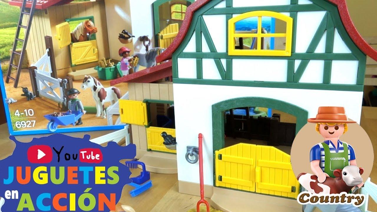 Abrimos la playmobil country granja de ponis playmobil for La granja de playmobil precio
