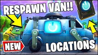 *NEW* FORTNITE UPDATE - RESPAWN VANS LOCATIONS, RESPAWN CARD & INFORMATION (#REVERT Fortnite)