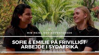 Sofie og Emilie på Township Children Volunteer - Min rejse med ADVENTUREDK