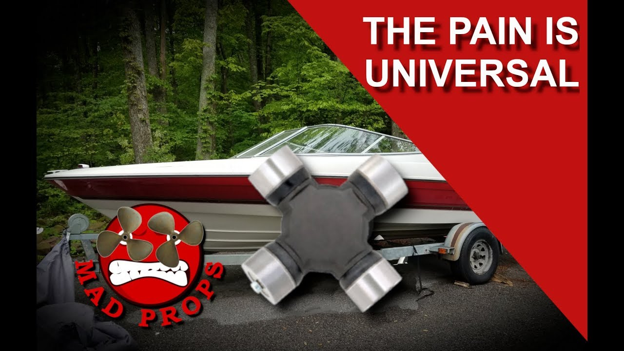 HOW TO REPLACE UNIVERSAL JOINTS ON A MERCRUISER