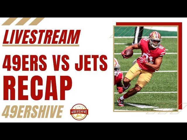 49ers vs Jets Recap LIVE