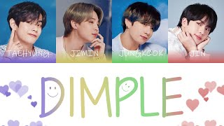 Download BTS (방탄소년단) - Dimple (보조개) Color Coded Lyrics