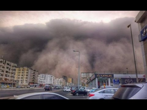 WORST 5 SANDSTORM  Arizona,Kuwait And Saudi Arabia