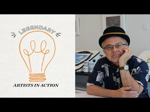 George Chialtas | Legendary Artists in Action | Nick Animation