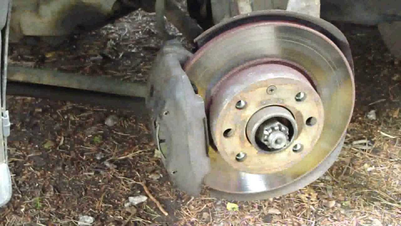 How to change front brake pads and disc Opel    Corsa    or