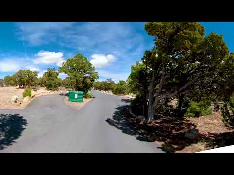 Desert View Campground in Grand Canyon Arizona - 360 Video Tour 4K CampgroundViews.com