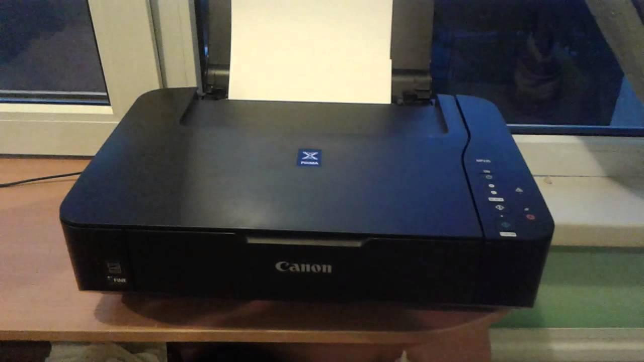 Canon MP 235 - YouTube