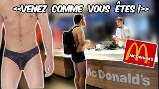 En sІip au McDonald's - Prank - Les Inachevés