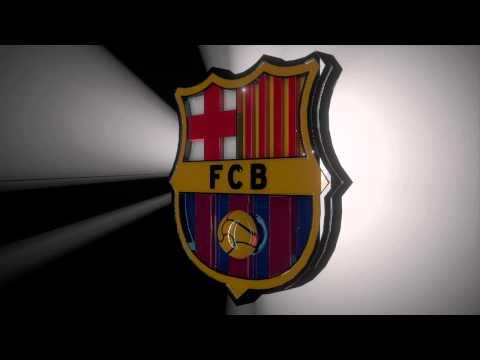 FC Barcelona Logo 3D | Doovi