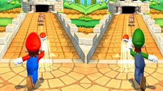Mario Party 9 -  Minigames - Mario vs Luigi vs Wario vs Peach (Master CPU)