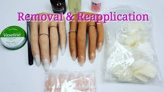 POOCHIEZ NAILS REALISTIC PRACTICE HANDS REMOVAL AND REAPPLY | IdleGirl
