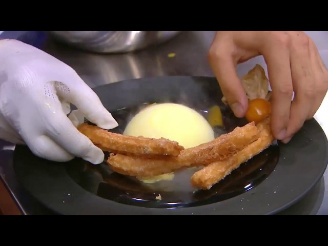 [Intro] ???????????????????????????????????????? ??????? Churros Chocolate mousse and Dome