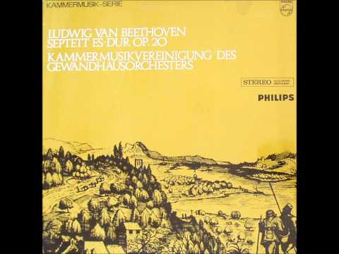 Beethoven: Septet in E-flat major, op. 20 (Soloists of the Gewandhaus Orchestra, Leipzig)