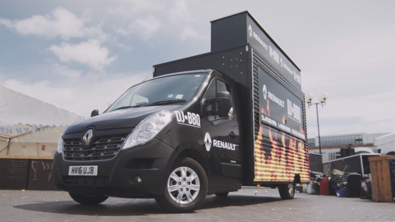 How Renault built the ideal van for DJ BBQ (sponsored) - Dauer: 4 Minuten, 32 Sekunden