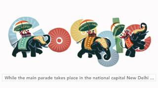 Republic Day of India - Google doodle