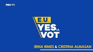 Irina Rimes si Cristina Almasan #yeslavot