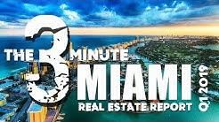 The 3 minute Miami Real Estate Market Report
