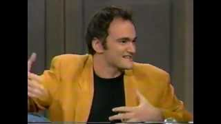 Quentin Tarantino On David Letterman 1994 Pulp Fiction - (NO ADS)