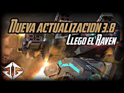 """Nueva actualización de War Robots """"3.8"""" Nuevo Robot, Nuevo mapa, Nueva armas y mas."""