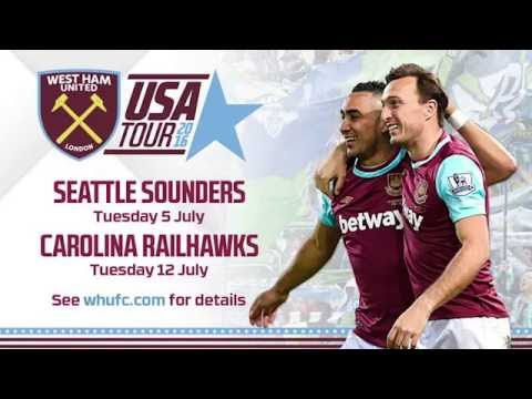🇺🇸HAMMERS HEAD STATESIDE FOR SEATTLE TEST 🇺🇸⚽️