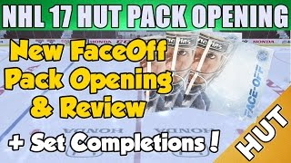 Faceoff Pack Opening + Sets - NHL 17 HUT - Hockey Ultimate Team - New Packs And New Set!