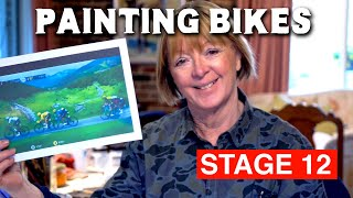 Painting Bikes from Le Tour de France
