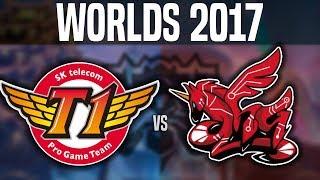 SKT vs AHQ - Worlds 2017 Group Stage Day 3 - SKT T1 vs AHQ e-Sports | Worlds 2017