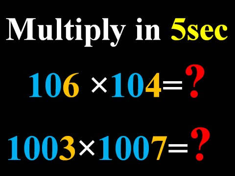 Multiplication of numbers whose last digits add to 10 and the remaining digit are same