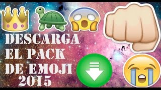 Descarga el pack de EMOJI- PNG | 2015