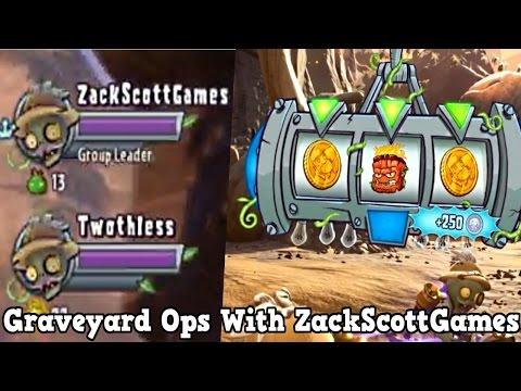 PvZ Garden Warfare 2: Graveyard Ops With ZACKSCOTTGAMES! - Gameplay