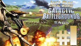 Let's Play Star Wars Galactic Battlegrounds Saga Ep. 1