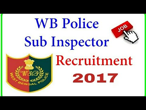 Sub Inspector Requirement 2017, 400  Vacancy (WB)