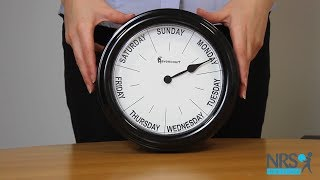 Days of the Week Clock For Dementia Care Review