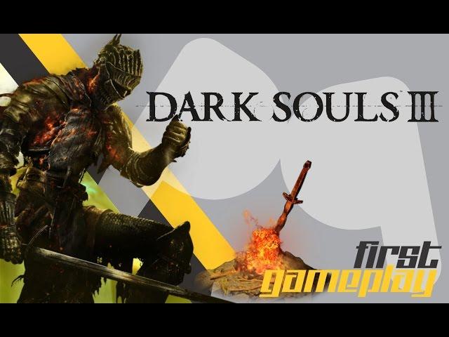 Darksouls III - First Gameplay (Hora do Show Po$#@)