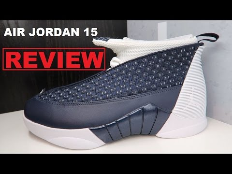 006d5c11ddd268 Air Jordan 15 Obsidian XV Retro Sneaker Honest Review - YouTube