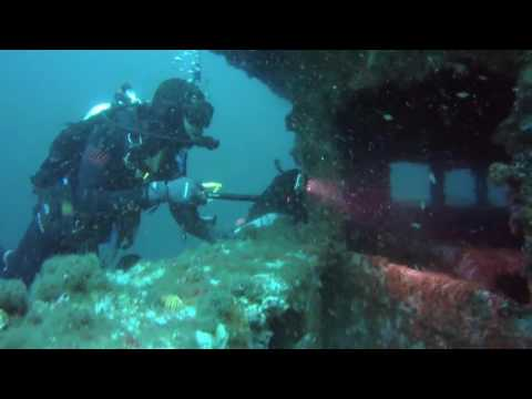 Wreck of HMAS Adelaide
