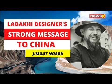Ladakhi Designer's Strong Message To China   NewsX
