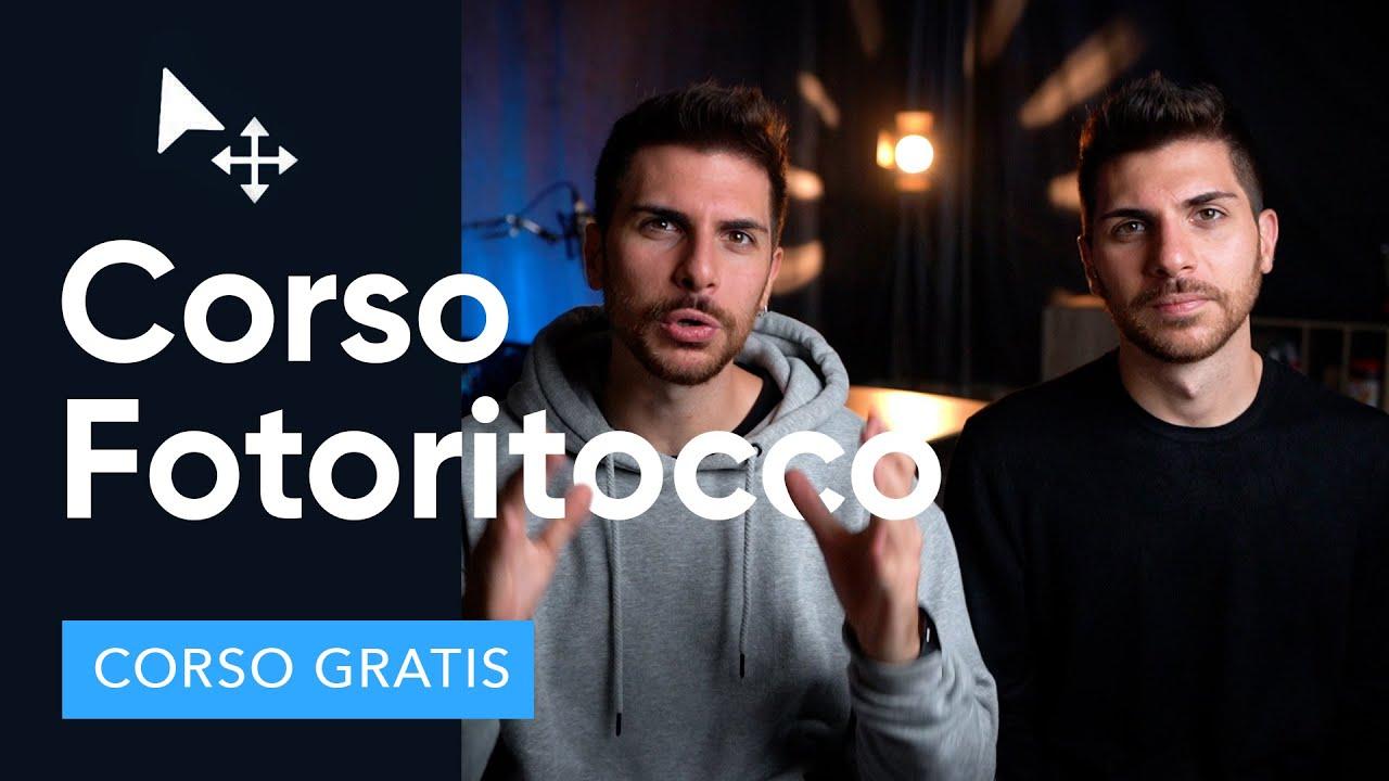 Corso Gratuito sul Fotoritocco Professionale!